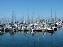Segel-Boote Stockfotografie