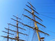 Segel-Mast Stockfoto