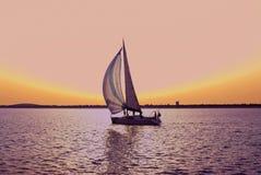 segelbåt arkivbilder