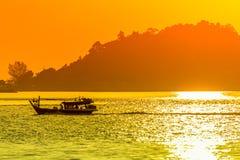 Segelbåt i Langkawi Fotografering för Bildbyråer