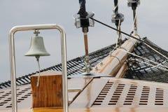 Segelbåt Klocka Fotografering för Bildbyråer