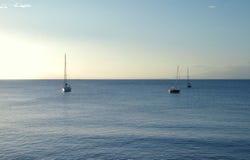 segelbåtar Arkivbild