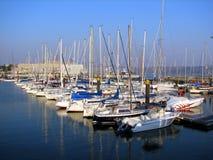 segelbåtar Fotografering för Bildbyråer