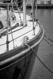 Segelbåtdetaljer Royaltyfri Bild