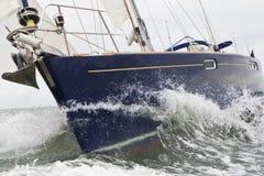 Segelbåtyacht arkivfoton