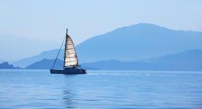 Segelboot Lizenzfreies Stockfoto