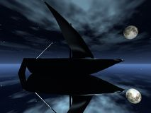 Segelboot stock abbildung