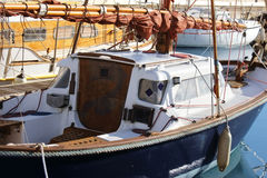 Segelboot Stockbild