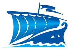 Segelboot Vektor Abbildung