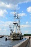 Segelboot-Anmut Stockfotografie