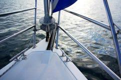Segelboot-Bogen Lizenzfreie Stockfotos