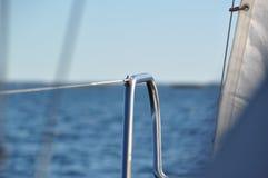 Segelboot-Details Lizenzfreies Stockfoto