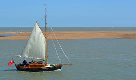 Segelboot Felixstowe-Fähre Lizenzfreie Stockfotografie
