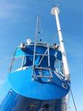 Segelboot im Trockendock Stockfotografie