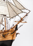 Segelboot Prow Stockfotografie