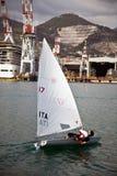 Segelboot Regatta Lizenzfreie Stockbilder