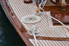 Segelbootdetail lizenzfreies stockbild