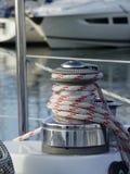Segelbootdetails Lizenzfreie Stockfotos