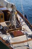 Segelbootdetails Stockbilder