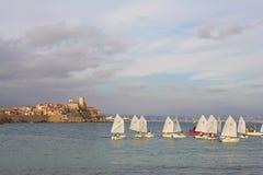 Segelboote #01 stockbilder