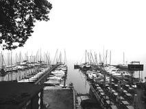 Segelboote Stockfoto