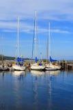Segelboote im Ruhezustand Lizenzfreies Stockfoto