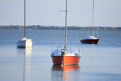 Segelbootfrieden Lizenzfreie Stockfotos