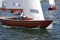 Segelbootregatta des BB 11 Stockfotografie