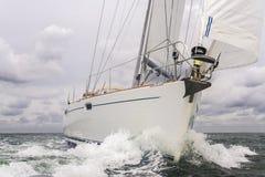 Segelbootyacht Stockfotografie