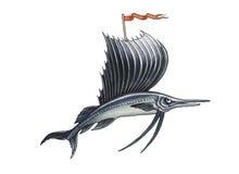 Segelfisch Lizenzfreies Stockfoto