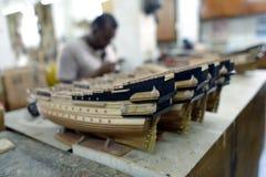 Segelfischmodelle Stockfotografie