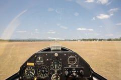 Segelflugzeug entfernen sich stockbilder