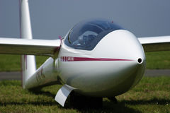 Segelflugzeugfläche Stockbild