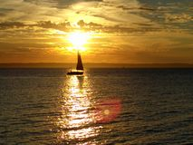 segeln lizenzfreie stockfotos