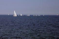 Segeln auf Ostsee Stockfoto