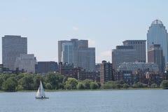 Segeln in Boston Lizenzfreie Stockfotografie