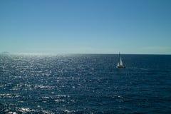 Segeln in das adriatische Meer Lizenzfreie Stockfotografie