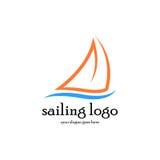 Segeln Logo Vector Stockbilder