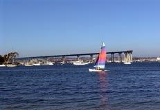 Segeln San Diego Stockbilder
