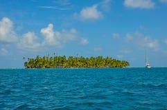 Segeln Sans Blas Islands, Panama Stockfotografie