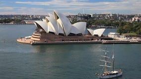 Segeln in Sydney stock video footage