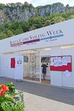 Segeln-Woche 2018, Capri, Italien Rolexs Capri lizenzfreies stockfoto