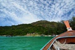 Segeln zu Ko Adang Satun-Provinz thailand Stockfotografie