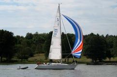 Segelnboot Lizenzfreies Stockbild