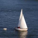 Segelnboot Stockbild