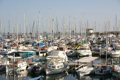 Segelnboote stockfotografie