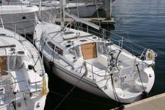 Segelnboote lizenzfreies stockbild