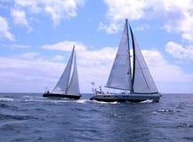 Segelnboote Lizenzfreie Stockfotografie
