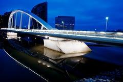 Segelnbrücke Stockbild