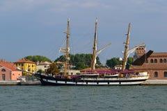 Segelschiff Lizenzfreie Stockfotos